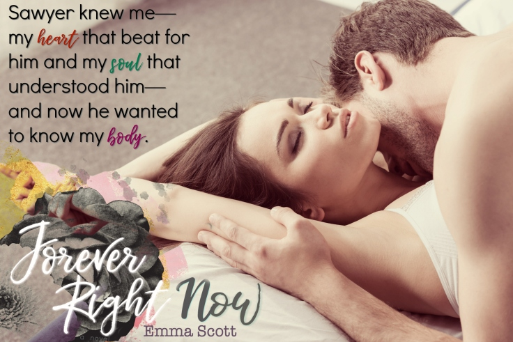 Forever Right Now Blogger Teaser