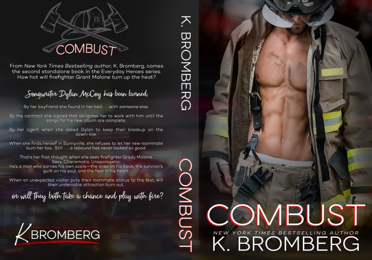 COMBUST by K. Bromberg FULL WRAP